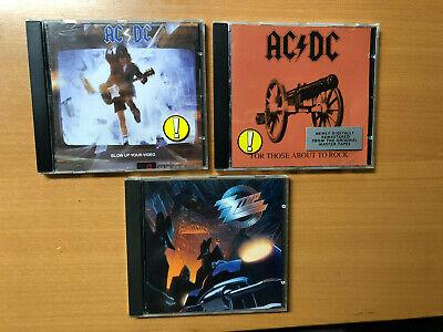3 Rock  CD`s , AC / DC , ZZ Top, online kaufen