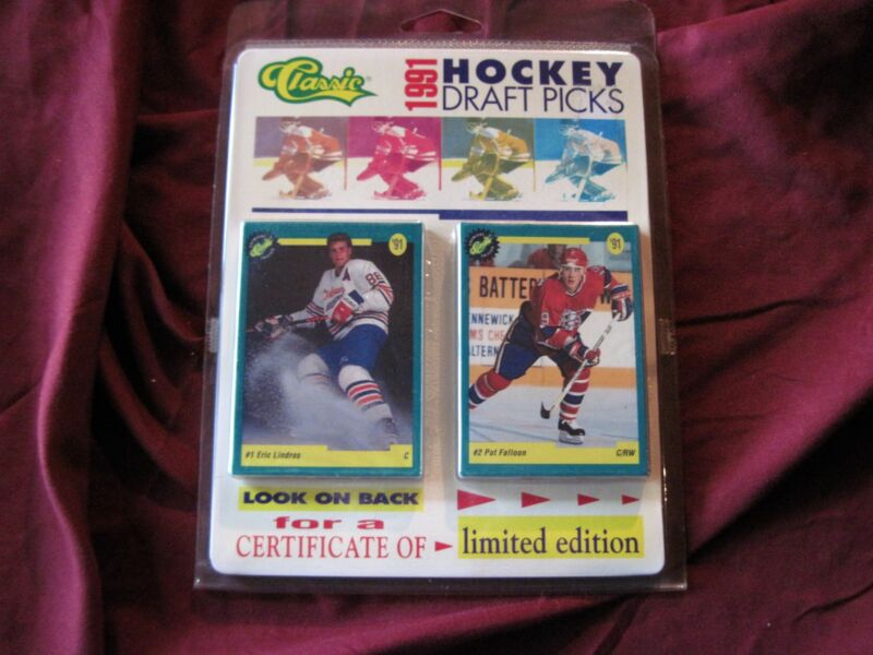 CLASSIC 1991 HOCKEY DRAFT PICKS LTD. ED. 50 CARD SET SEALED