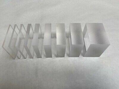 Clear Cast Acrylic Sheet 48 X 96 X 18 Plexiglass Plastic - Local Pick Up