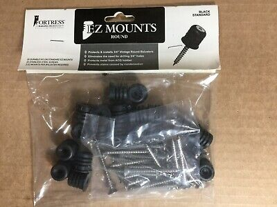 Lot 20 of EZ-Mounts Balusters Connector Packs for Level Railings (Qty = 400)