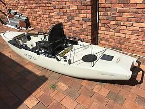 Kayak Hobie Mirage Pro Angler 12 (2016) Revesby Bankstown Area Preview