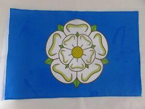 YORKSHIRE WHITE ROSE FLAG 18