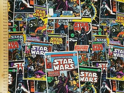 Star Wars fabric 100% cotton material metre films 9 rise of jedi force 2019 2020