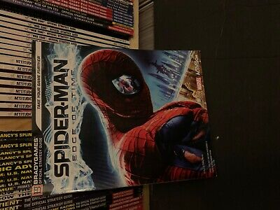 Spider-Man Edge of Time BradyGames Strategy Guide Book Xbox 360, PS3