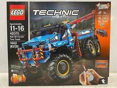LEGO 42070 Technic 6x6 All Terrain Tow Truck Building Kit 1862 Piece NIB Sealed