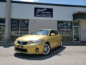 2011 Lexus CT 200h HYBRID*LEATHER*ROOF*CERTIFIED*