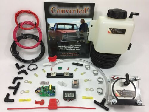 9 Plate HHO Dry Cell Kit W/ Electronics HydroCell Electrolysis