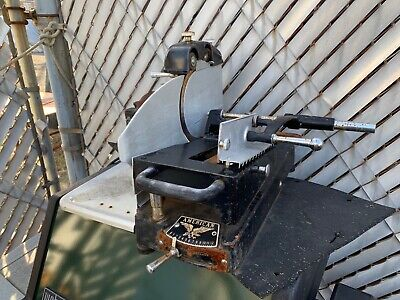 Antique American Slicing Machine - Meat Or Cheese Slicer - In Nj