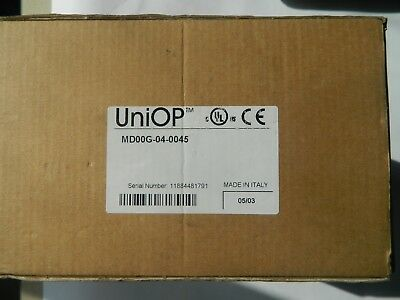 Uniop Md00g-04-0045 Operator Interface Lcd Display
