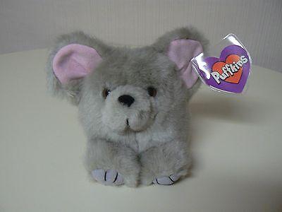 Puffkins Plush MURPHY Mouse #6618 SWIBCO Birthdate 5-1-97 NWT