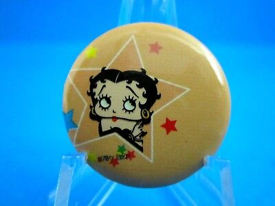 """VINTAGE STYLE... """"THE STAR BETTY BOOP PINBACK BUTTON"""" - FREE SHIPPING...""""SALE"""""""