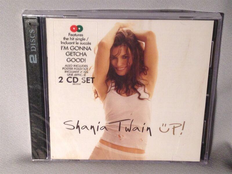 Cd Shania Twain Up (2 Discs, 2002) Canada New Mint Sealed