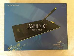 Bamboo Pen and Touch Tablet Small Queanbeyan Queanbeyan Area Preview