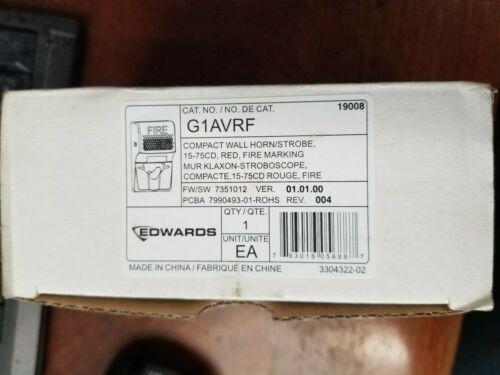 EDWARDS EST G1AVRF WALL HORN STROBE
