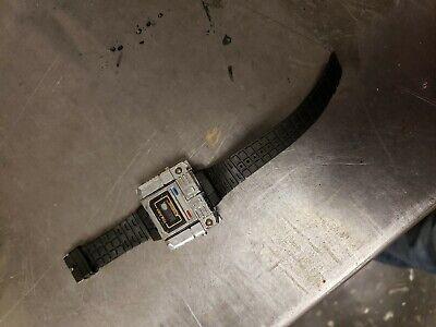 Transformers Kronoform Chrome/ silver Robot Time Machine Watch G1 Takara Japan