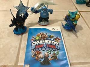 Skylanders Trap Team and figures for Wii