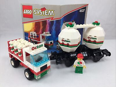 LEGO 4537 Trains Twin Tank Transporter - Complete with Instructions