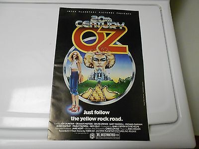 1976 20th CENTURY (Wizard of) OZ Fantasy Press Book Kit FN+