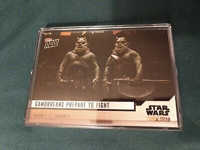 Topps Now The Mandalorian Season 2 Chapter 9 5 card set