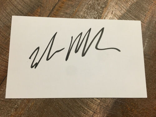 Rare Elon Musk Autographed Signed Card w/ COA and RC 1:64 Tesla Cybertruck