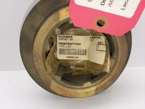 """980905-00 Centrifugal Pump Impeller 5 1/4"""" Diameter 7/8 Bore"""