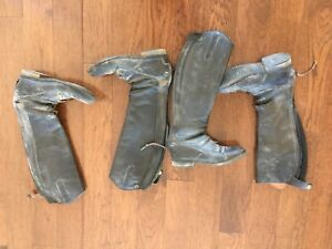 Leather tall/field boots (size 6 SOLD)