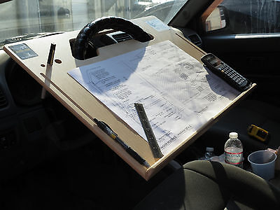 ipad Car laptop tablet notepad Contractor Steering Wheel  C Desk vehicle tray