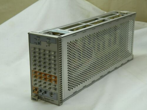 Tektronix 7M13 7000 Series AlphaNumeric Readout Plug In, Used Works Fine