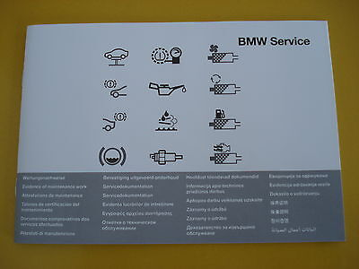 BMW Service Book All BMW 1  3 4 5 6 7 SERIES M3 M5 X1 X3 X5 X6 Z3 Z4 Multi lang.