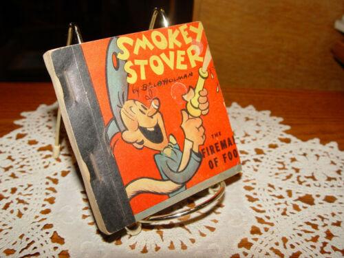 1938 Smokey Stover Buddy Coupon Comic Book Firefighter of Foo Bill Holman No 1