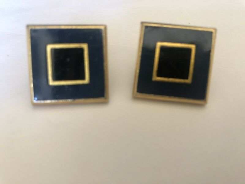 Auth Yves Saint Laurent Earrings Vintage