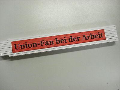 Union - Fan bei der Arbeit