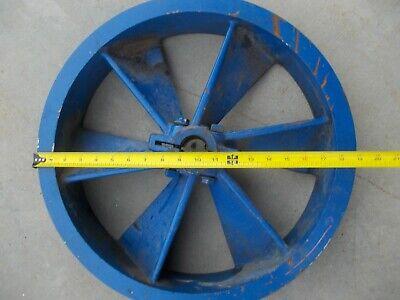 19.5 Quincy Air Compressor Pulley Flywheel Sheave Large Industrial