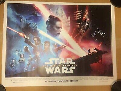 Star Wars The Rise Of Skywalker Final Design Original Quad Cinema Poster.