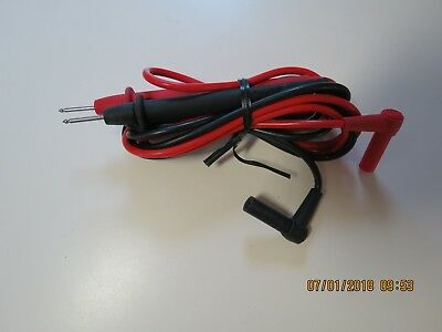 Genuine Fluke Tl75 Test Leads. Used In Good Working Condition.