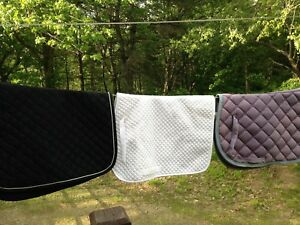 Saddle Pad Lot