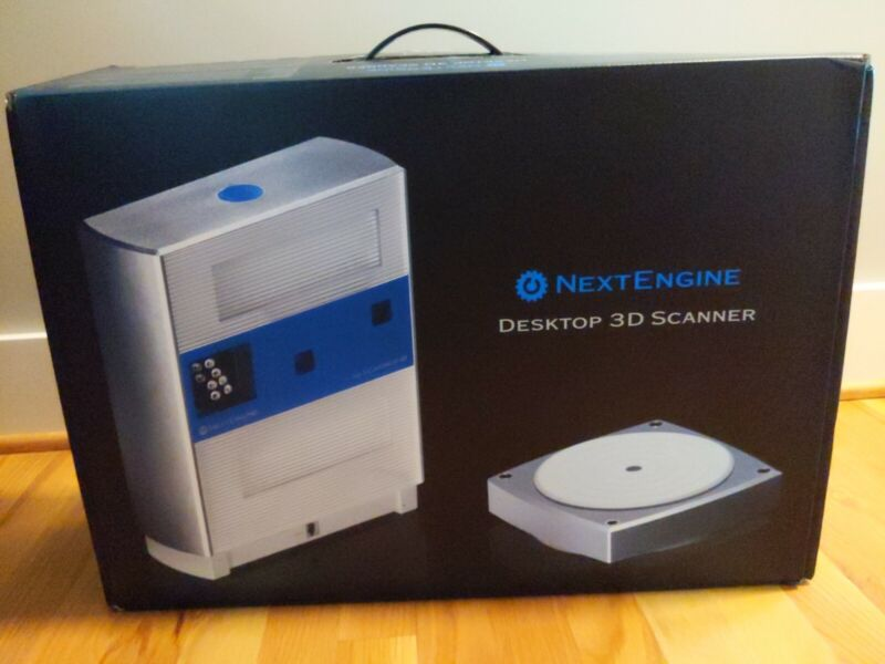 NextEngine  Desktop 3D Scanner, Barely Used In Box