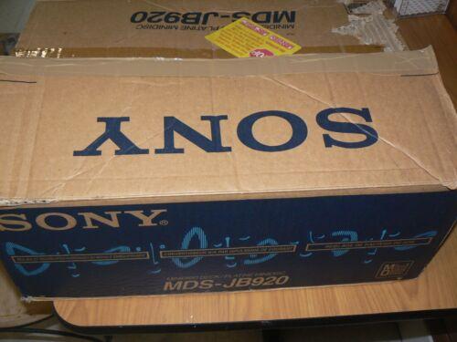Sony Minidisc Deck MDS-JB920