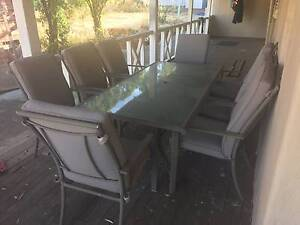 7 Piece outdoor Setting Toodyay Toodyay Area Preview