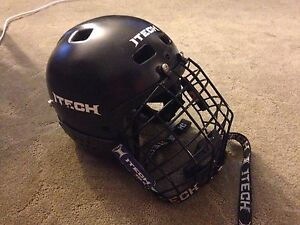 Adjustable size 6-6.5 hockey helmet