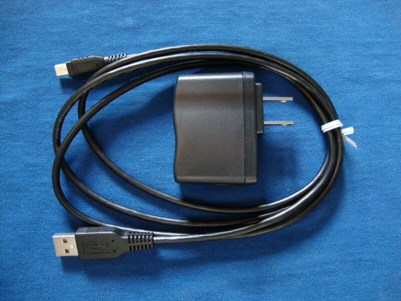 New TI-84 Plus CE Charger Power AC Adapter Genuine TI Product w USB Cable