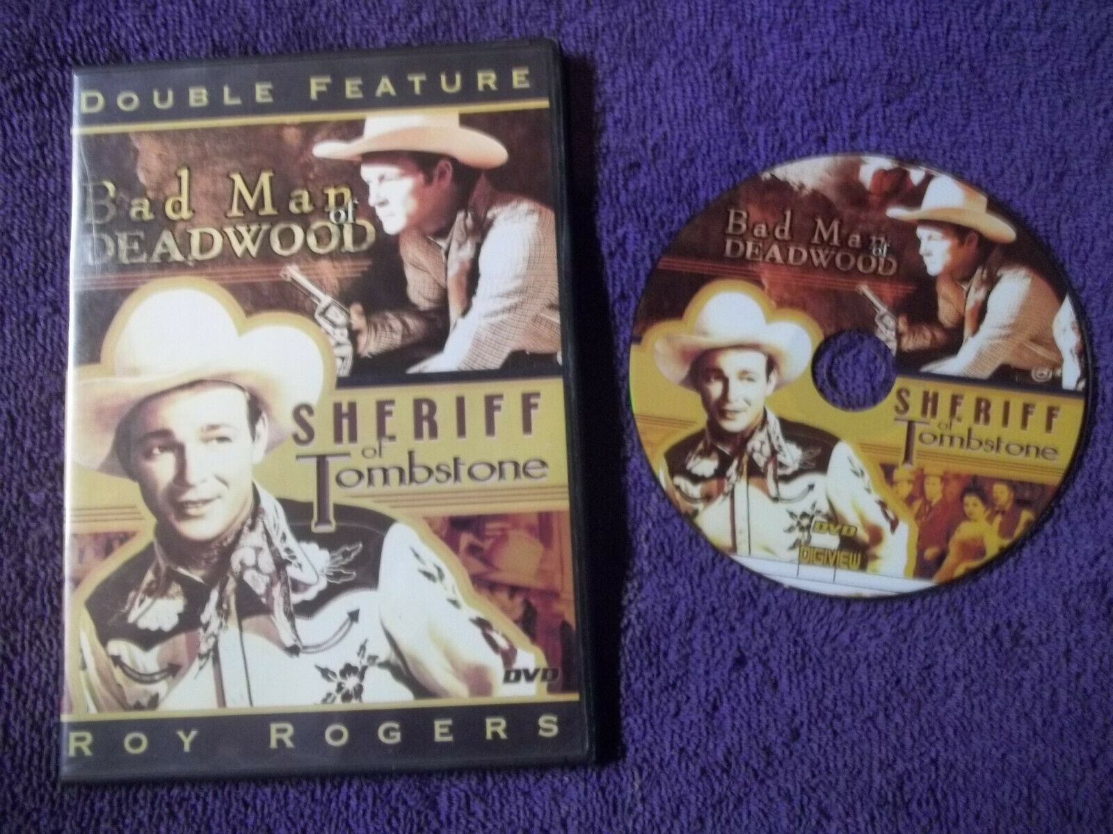 2-ROY ROGERS-BAD MAN Of DEADWOOD SHERIFF Of TOMBSTONE -DVD - $8.00