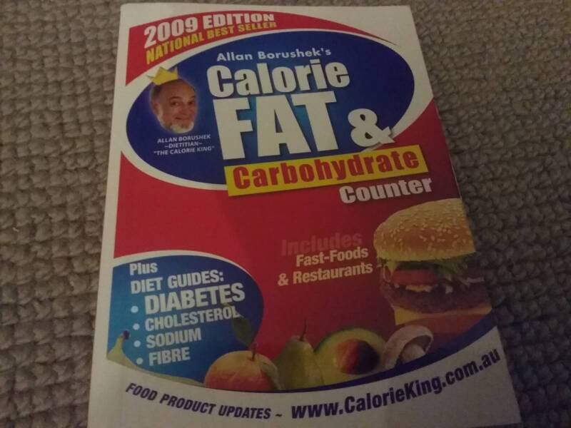 Calorie, Fat and Carb Counter Book | Nonfiction Books | Gumtree