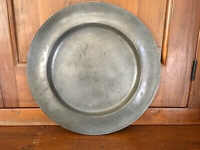 Old World Pewter Company Charger Plate -