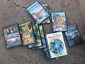 Box of DVDs and Sony DVD Player - Moving Sale!