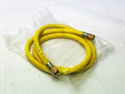 New 60 Yellow Charging Hose 38 Str. Flare X 38 Str. Flare R22 134a 502 404a