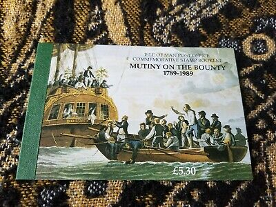 Isle of Man / Great Britain - Mutiny on the Bounty - Stamp Booklet - T28