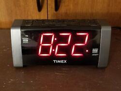 Timex Digital Alarm Clock Radio T235Y DUAL ALARM CLOCK AM/FM RADIO