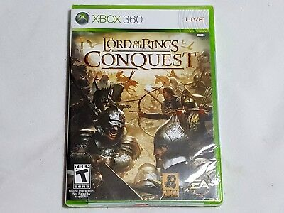 NEW The Lord of the Rings Conquest XBox 360 Game SEALED lotr hobbit US NTSC, used for sale  Shipping to India