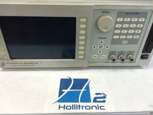 DTA 9500 TIME INTERVAL ANALYSER